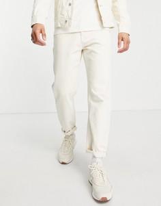 Свободные джинсы цвета экрю Tom Tailor-Нейтральный