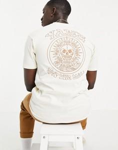 Бежевая футболка Vans El Sole-Нейтральный