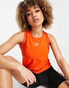 Оранжевая майка Nike Air Running-Оранжевый цвет
