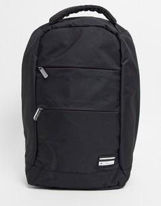 Черный городской рюкзак Ben Sherman-Черный цвет