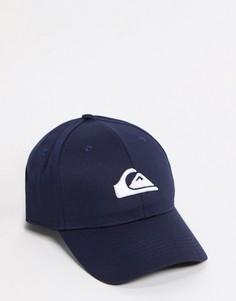 Темно-синяя кепка Quiksilver Decades-Темно-синий