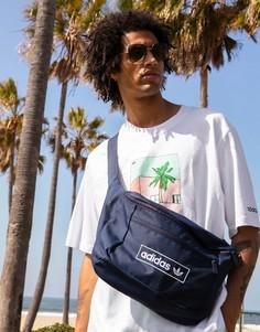 Темно-синяя сумка-кошелек на пояс adidas Originals Summer Club-Темно-синий