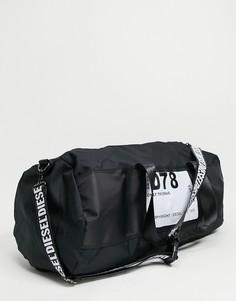 Черная спортивная сумка Diesel-Черный цвет
