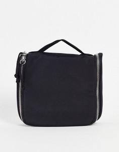 Черный дорожный несессер ASOS DESIGN-Черный цвет