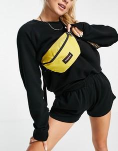 Желтая сумка-кошелек на пояс Eastpak-Желтый