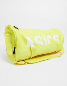 Желтая спортивная сумка Asics Сore-Желтый