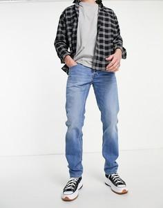 Голубые прямые джинсы Lee Daren-Голубой