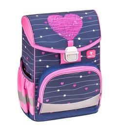 Ранец Belmil Click Simple Heart, Сердце, фиолетовый
