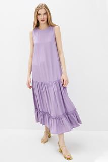 Повседневное платье женское Baon B450094 фиолетовое S