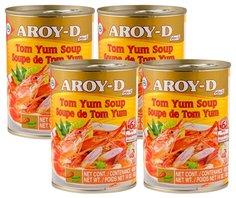 Основа для супа Аroy-d Том Ям 400г/4