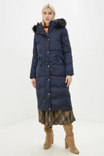 Пуховик-пальто женский Baon B009551 синий L