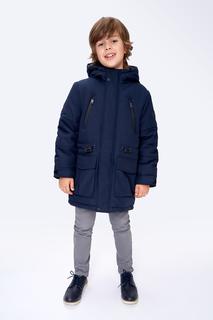 Куртка для мальчика Baon BK539503 синий р.134