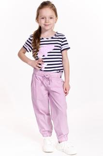 Брюки для девочки Baon BK299001 розовый р.98-104