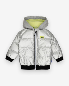 Серебристая демисезонная куртка Gulliver