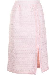 Giambattista Valli юбка-карандаш с вышивкой