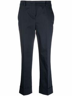 Incotex укороченные брюки прямого кроя