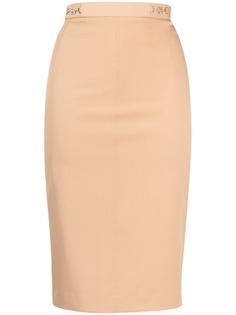 Elisabetta Franchi юбка-карандаш с пряжками
