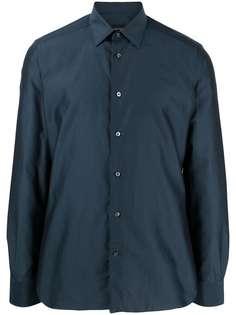 Ermenegildo Zegna рубашка на пуговицах с длинными рукавами
