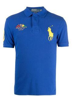 Polo Ralph Lauren рубашка поло Yacht Club с вышивкой