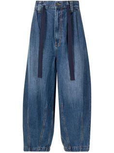 FIVE CM укороченные джинсы широкого кроя