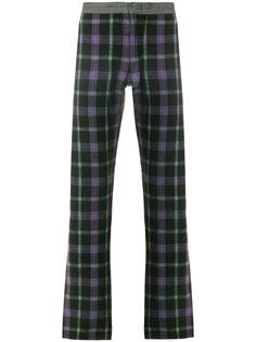 Comme Des Garçons Pre-Owned брюки тартан
