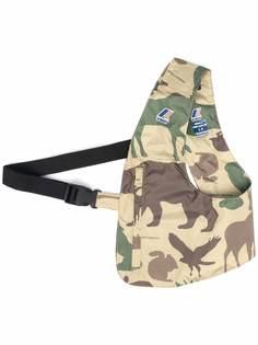 K-Way R&D сумка-тоут с камуфляжным принтом