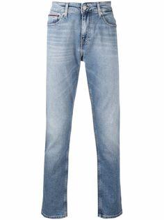 Tommy Hilfiger джинсы низкой посадки с эффектом потертости
