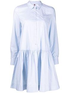 Tommy Hilfiger платье-рубашка на пуговицах