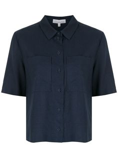 Nk рубашка с короткими рукавами и нагрудным карманом НК