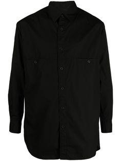 Yohji Yamamoto рубашка с длинными рукавами