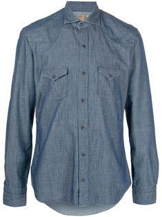 Barba джинсовая рубашка