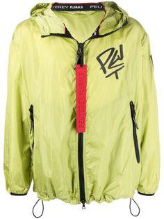 Peuterey куртка с капюшоном и графичным принтом