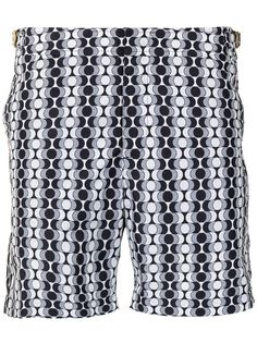 Orlebar Brown плавки-шорты Bulldog с геометричным принтом