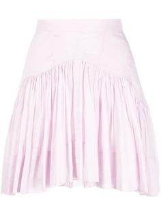 Isabel Marant расклешенная мини-юбка Kadavu