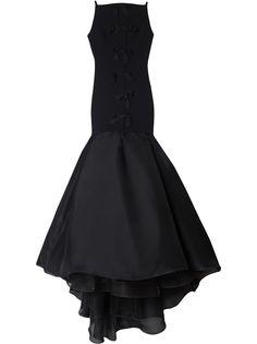 Carolina Herrera вечернее платье-труба