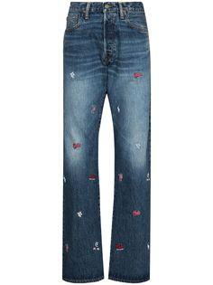 Polo Ralph Lauren джинсы прямого кроя с вышитым логотипом