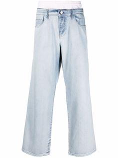 Koché широкие джинсы средней посадки