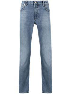 Closed прямые джинсы с пятью карманами