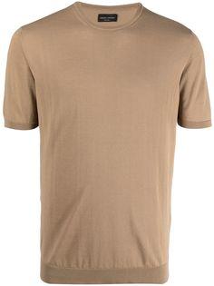 Roberto Collina трикотажная футболка с короткими рукавами