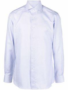 Xacus полосатая рубашка с длинными рукавами