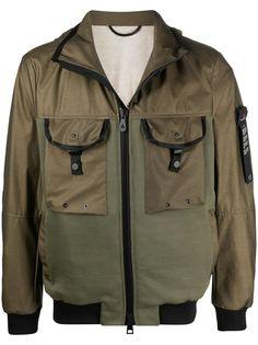 Peuterey легкая куртка со вставками и капюшоном