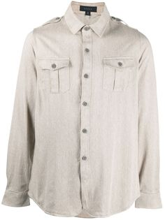 Sease рубашка с длинными рукавами и нагрудным карманом