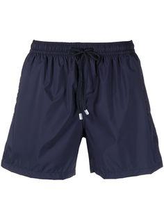 Fedeli плавки-шорты с нашивкой-логотипом