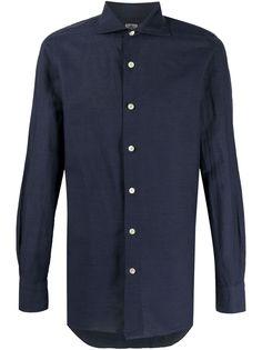 Finamore 1925 Napoli рубашка с длинными рукавами