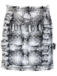 Loulou фактурная юбка-карандаш