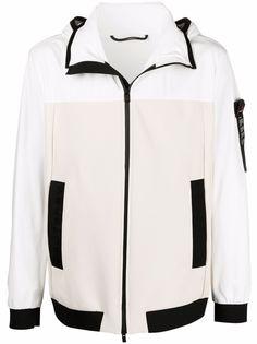 Peuterey куртка с контрастной вставкой