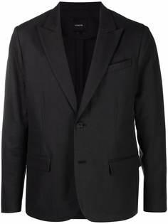 Vince однобортный пиджак