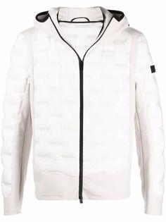 Peuterey стеганая куртка с капюшоном