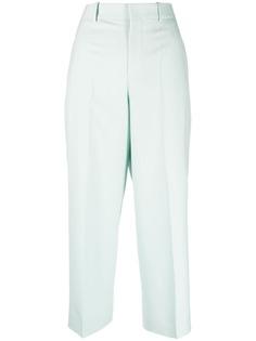 Givenchy укороченные брюки прямого кроя