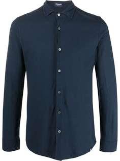 Drumohr рубашка с длинными рукавами и заостренным воротником